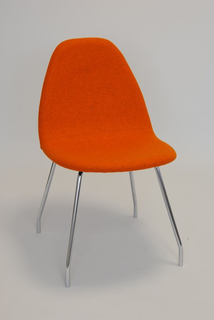 Kube Chair, Base No 5 - Four Steel Legs