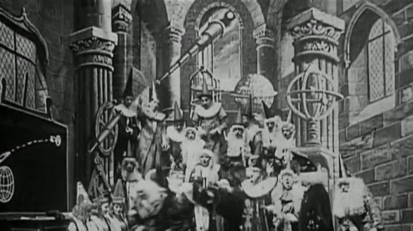 'A Trip to the Moon', based on the novel 'From the Earth to the Moon' by Jules Verne, the Godfather of modern Science-Fiction. http://www.fact.co.uk/projects/science-fiction-new-death