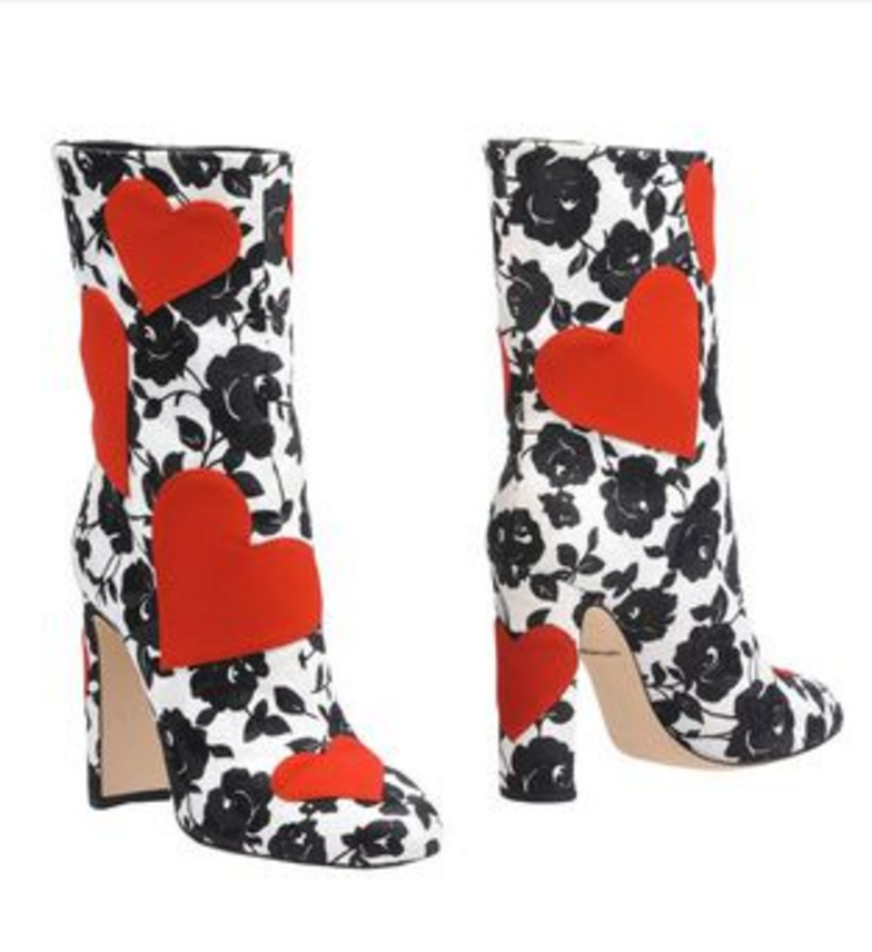 Dolce and Gabbana   Ankle Boots   Boots, Floral ankle boots