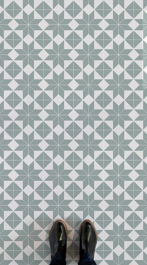 Brittany Is A Victorian Tile Effect Vinyl Flooring Design That Is Available In Navy Orange And Lig Tile Effect Vinyl Flooring Hallway Flooring Victorian Tiles