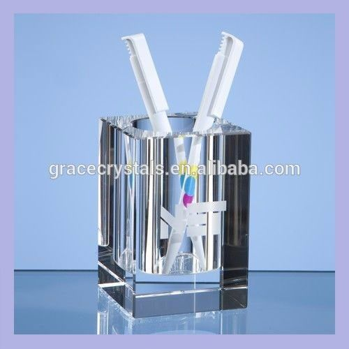 High Grade Office Desk Top Gifts Crystal Desk Pen Holder - Buy Crystal Desk Pen Holder,Handmade Pen Holder,Personalized Pen Holder Product on Alibaba.com