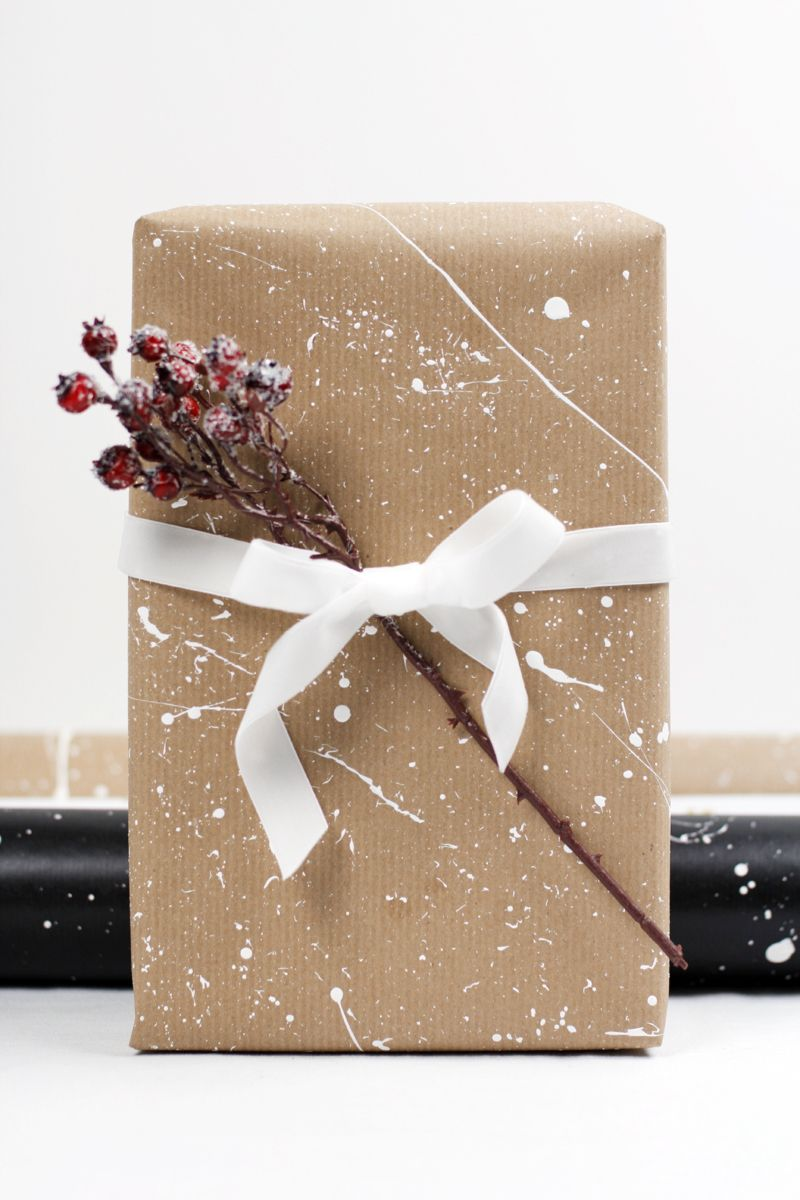 DIY: Geschenkpapier gestalten | Baby it\'s cold outside - Christmas ...