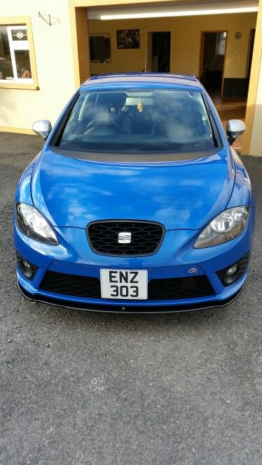 2011 seat leon fr. 1.4 tsi. speed blue metallic.custom front