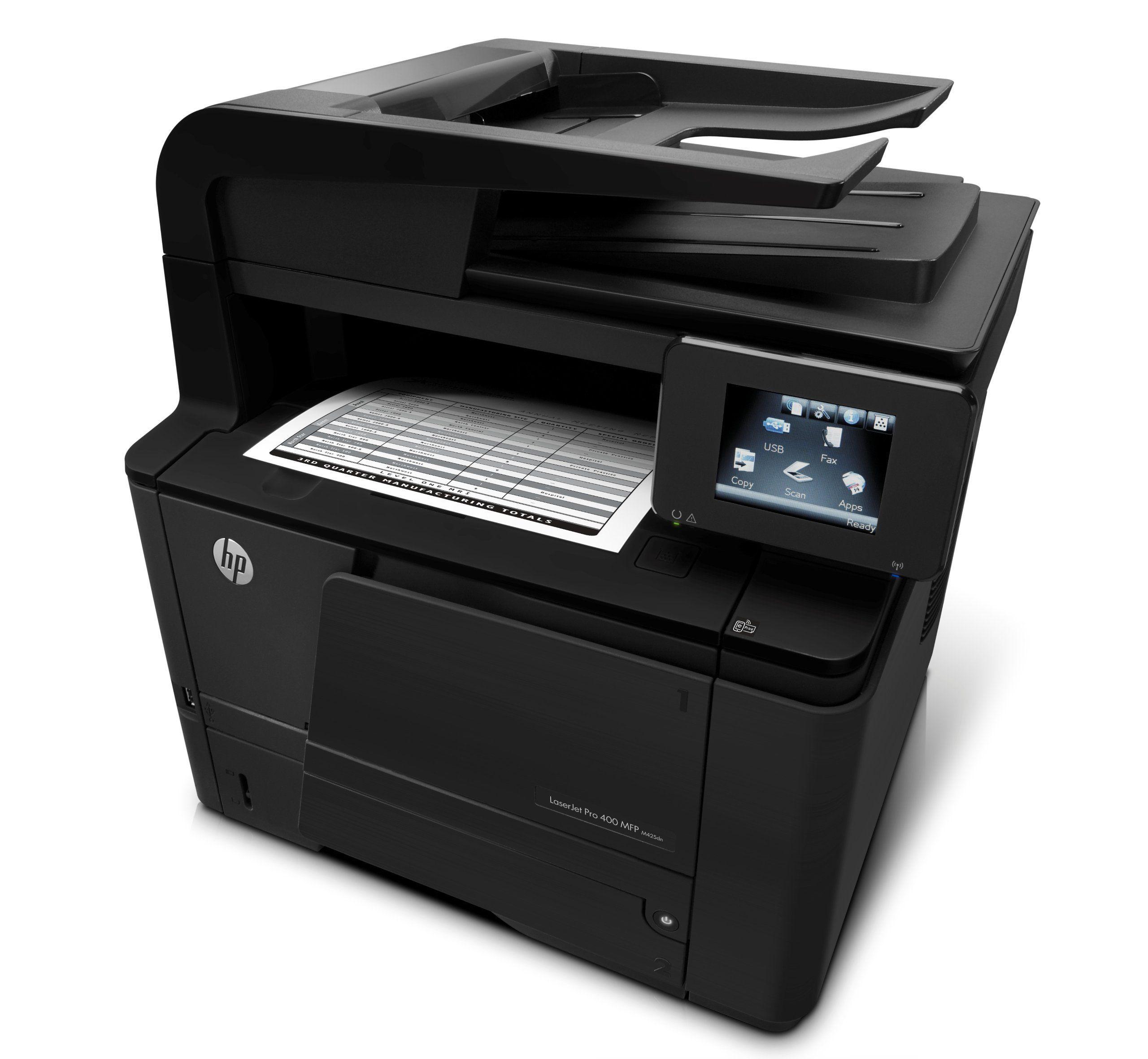 HP LaserJet Pro M425dn AllinOne Monochrome Printer