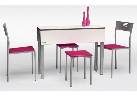 Comprar online mesa peque a piccola cancio blanca y con - Mesa cocina pequena ...