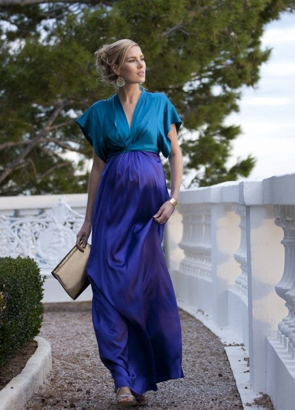Silk Maxi Maternity Dress Maternity Clothes Dresses Online