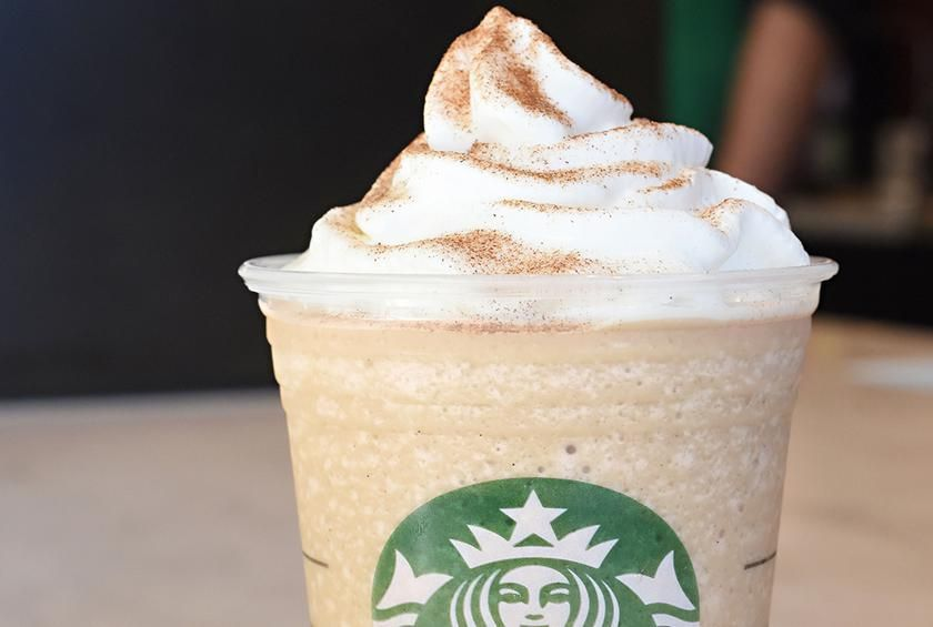 Cinnamon Roll Frappuccino This Delicious Drink Is Great For Your Morning Munchies It Uses Va Cinnamon Dolce Syrup Vanilla Drinks Frappuccino Recipe Vanilla