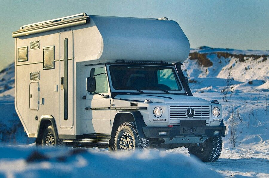 Camper overland vehicles pinterest expedition for Mercedes benz caravan
