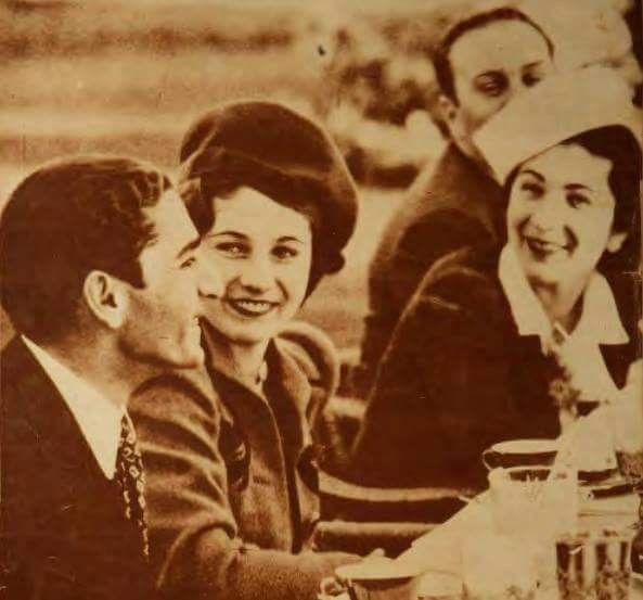 King Farouk Queen Farida Princess Fawzia Mohammad Reza Pahlavi Crown Prince Of Iran African Royalty Egyptian Actress Historical Photos