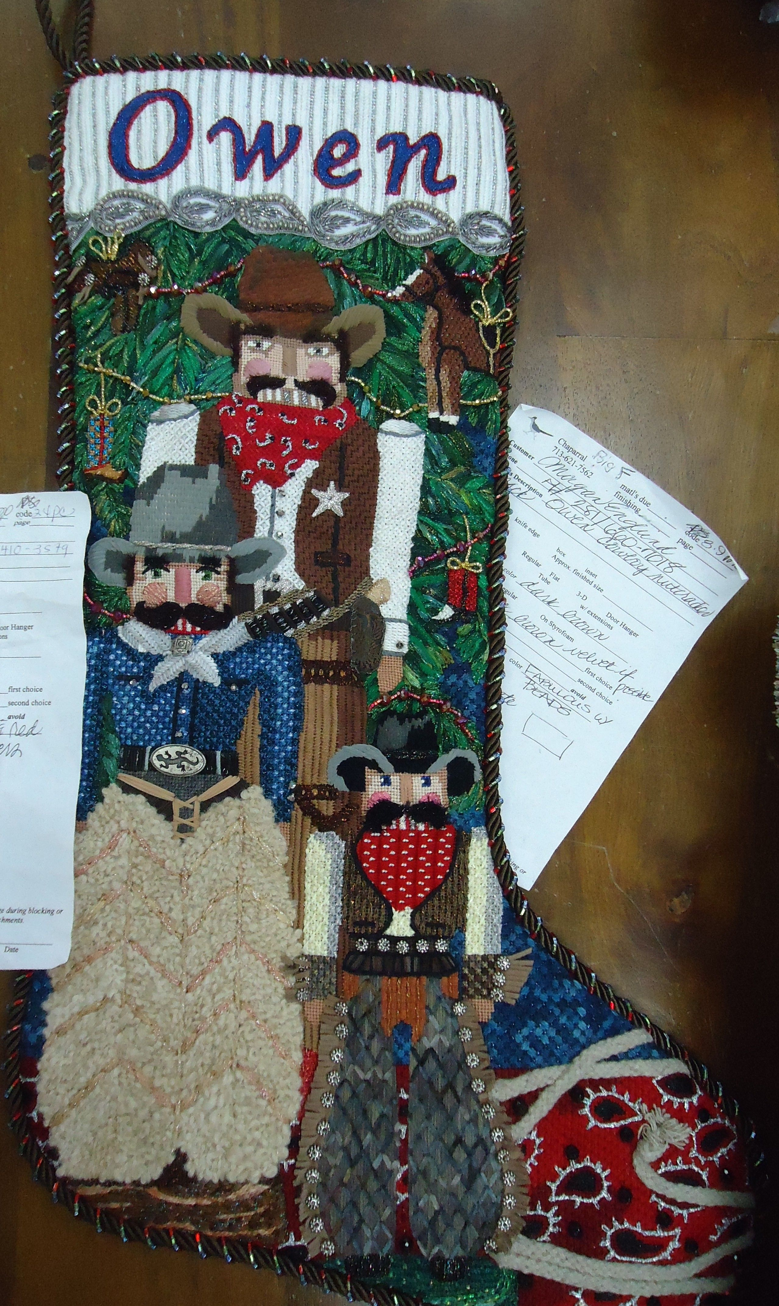 tapestry tent needlepoint christmas stockings favorite