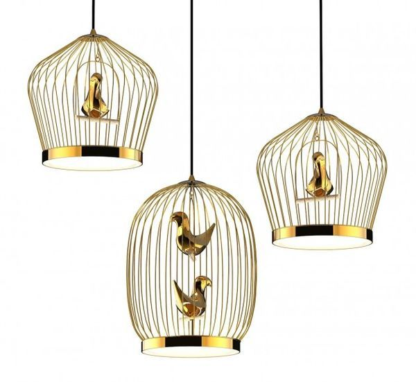 Bird cage inspired lighting inspired lighting bird cages and bird cage inspired lighting the tweetie pendant lamp by jake phipps is whimsically chic mozeypictures Image collections