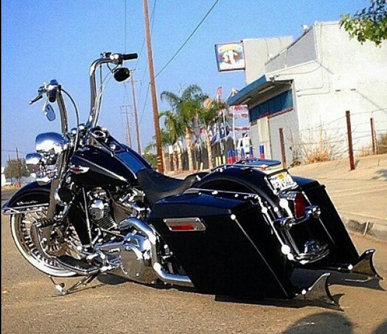 Pin On Lowrider Harleys, Cholo Style