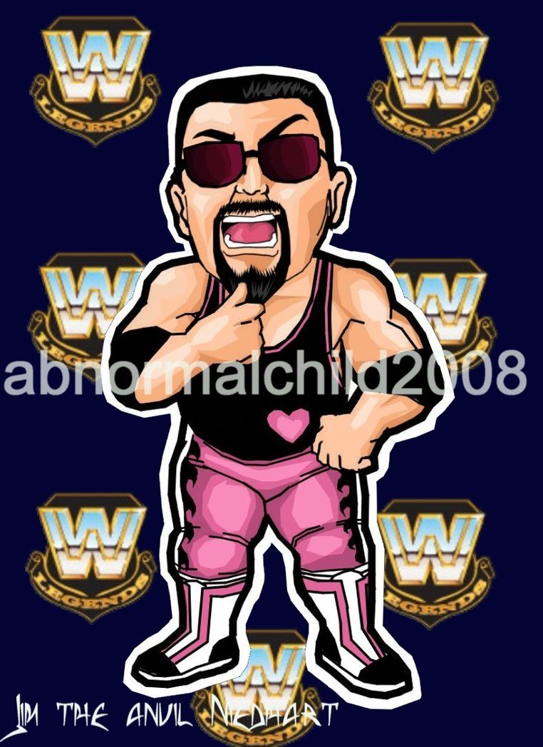jim the anvil neidhart color by abnormalchild