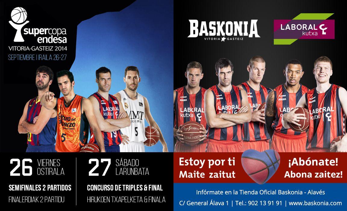 Web Oficial del Laboral Kutxa Baskonia. Club de baloncesto Euroleague & Liga Endesa.
