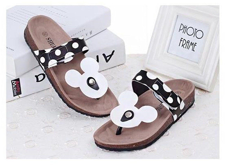 Womens Micky Flat Cute Flip Flops