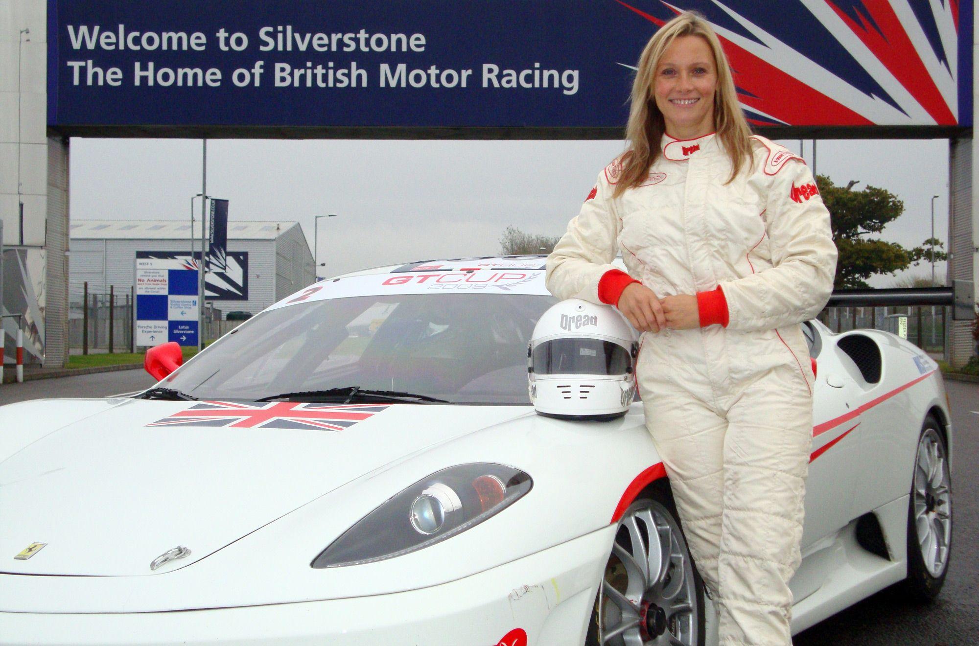 Vicky Butler Henderson Ferrari F430 Ferrari British Motors