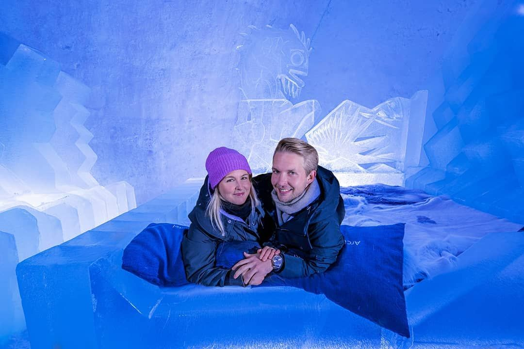 Sleeping In A Hotel Made Entirely Of Snow And Ice Would You Have