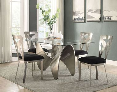 Widforss Antique Silver Dining Table With Chairs In 2019 Dining