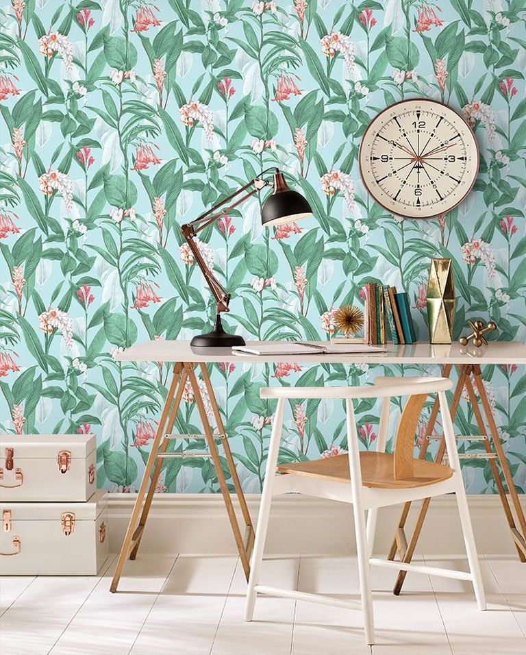 These Are The 16 Best Places To Buy Unique Wallpaper Online Unique Wallpaper Botanical Wallpaper Buy Wallpaper Online
