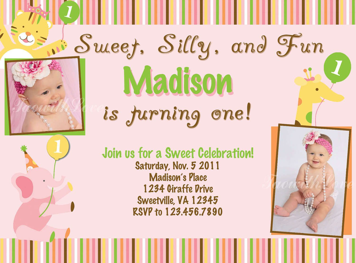 Birthday Invitation Maker Ideas with outstanding