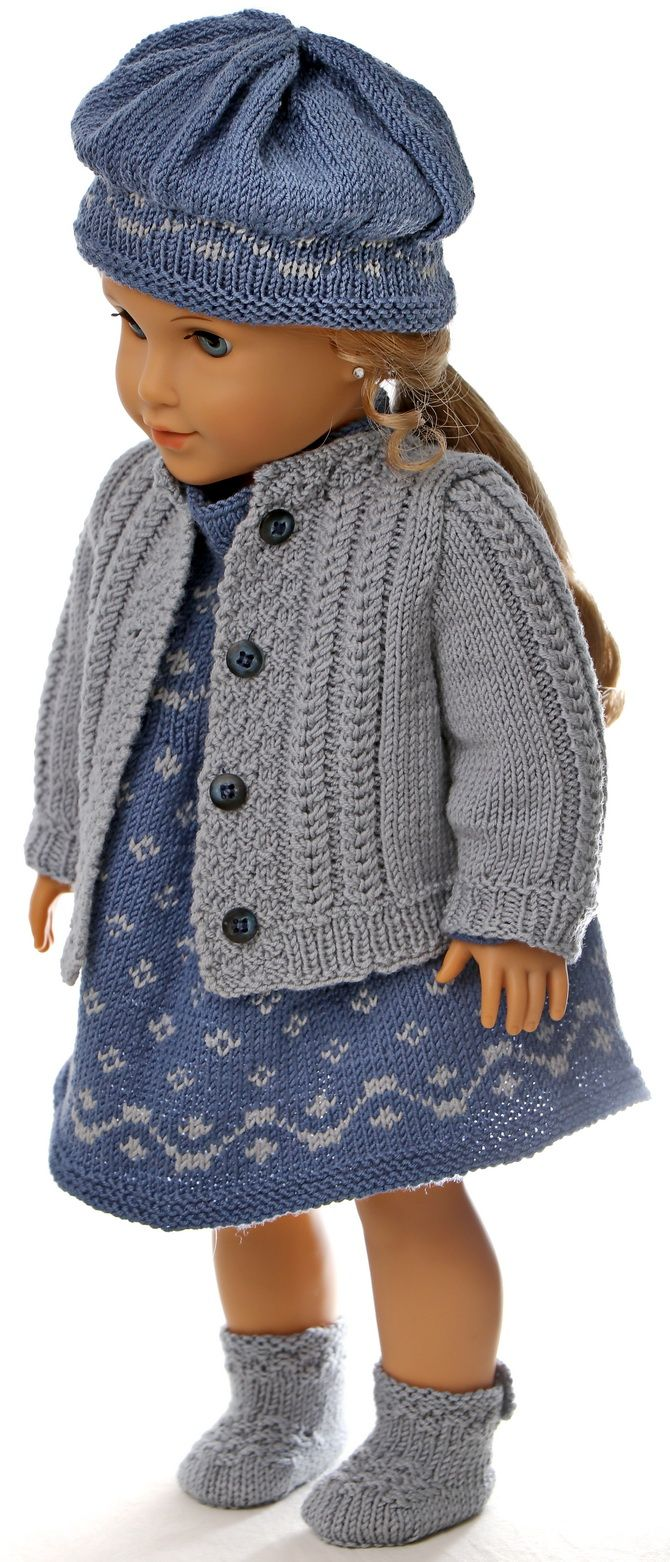 knitting patterns dolls clothes baby born - Knit it as your ...