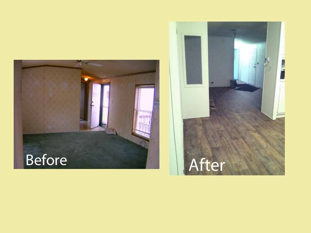 Pin By Haley Lamiaux On Mobile Homes Remodeling Mobile Homes Mobile Home Makeovers Mobile Home Renovations
