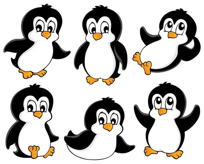 Cute penguins collection 1 Sticker • Pixers® • We live to