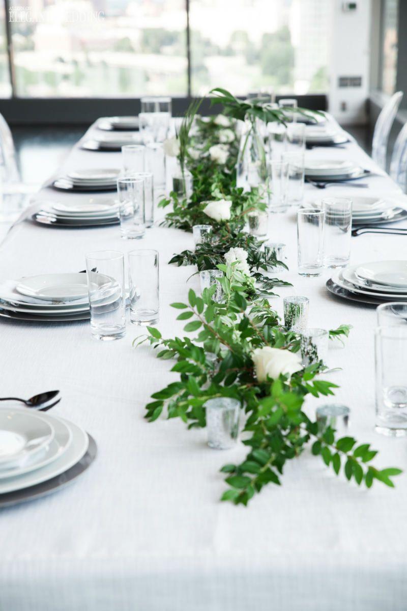 Modern All-White Tropical Wedding Theme | Pinterest | Wedding theme ...