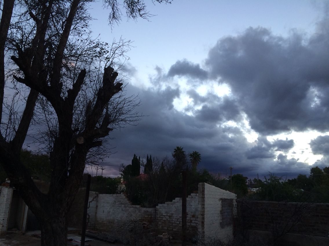 Approaching storm in the Karoo