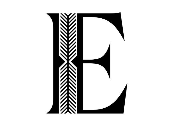 fancy letter e fancy e cool typography typography letters graphic design