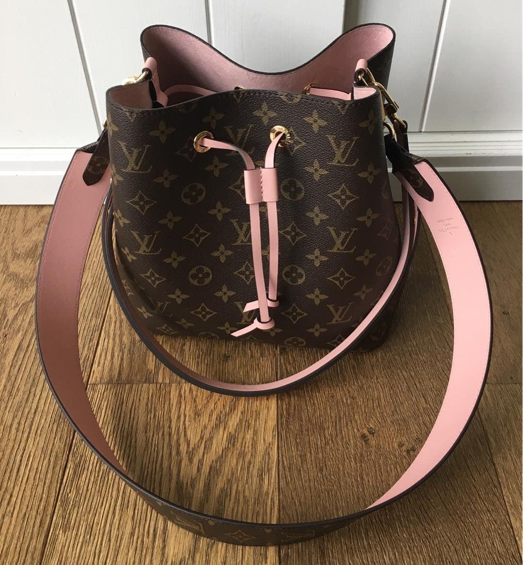 953520a55818  Louis  Vuitton  Monogram Neonoe M44020 M44021 M44022. 2017 Newest LV  Spring  Summer Collection.