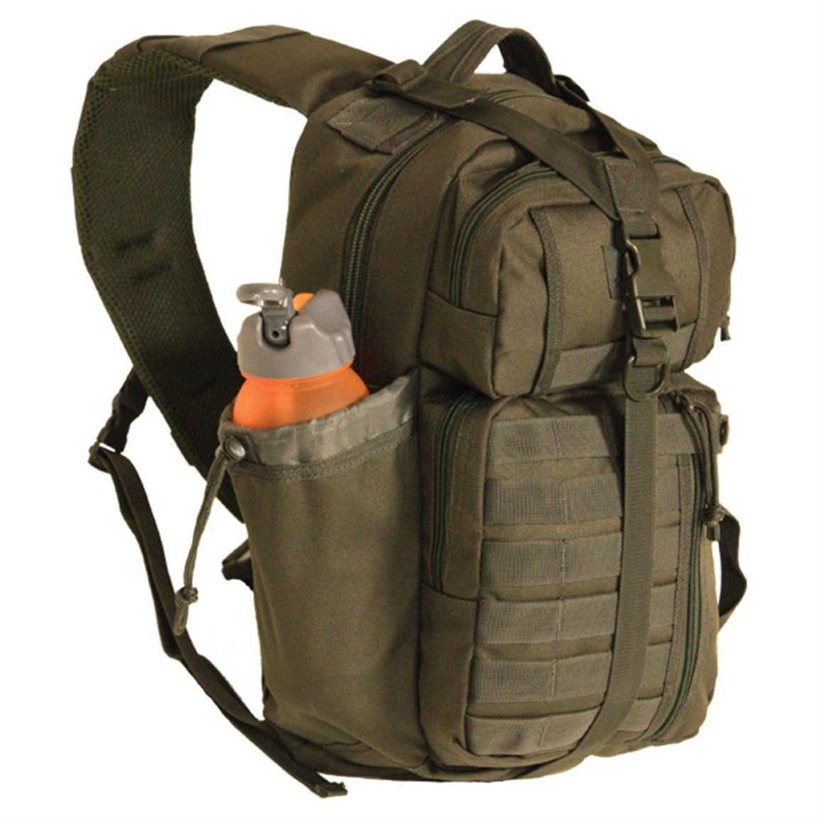 This Red Rock Outdoor Gear Rambler Sling Bag Is A Smart Single Strap Conceal Carry Design That Easily Rotates From Back To Chest For Quick Access