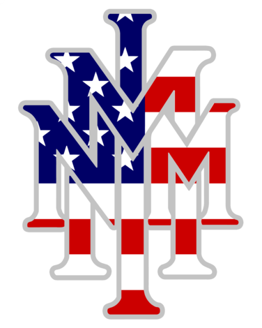 High Quality Guaranteed Create A Gift With Nmmi Stacked Us Flag Design Logo On T Shirts Or Phone Cases From Http Hicus Flag Design Logo Design Tshirt Designs