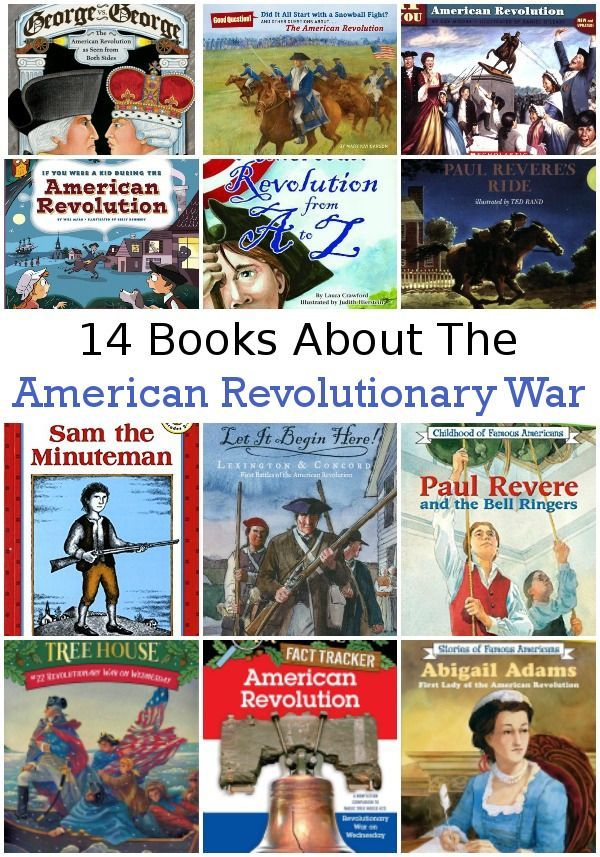 14 Books About the American Revolutionary War