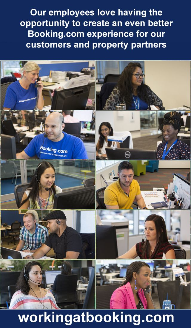 Our Employees Love Having The Opportunity To Create An Even Better Booking Com Experience For Our Customers And Property Job Opportunities Partners Opportunity