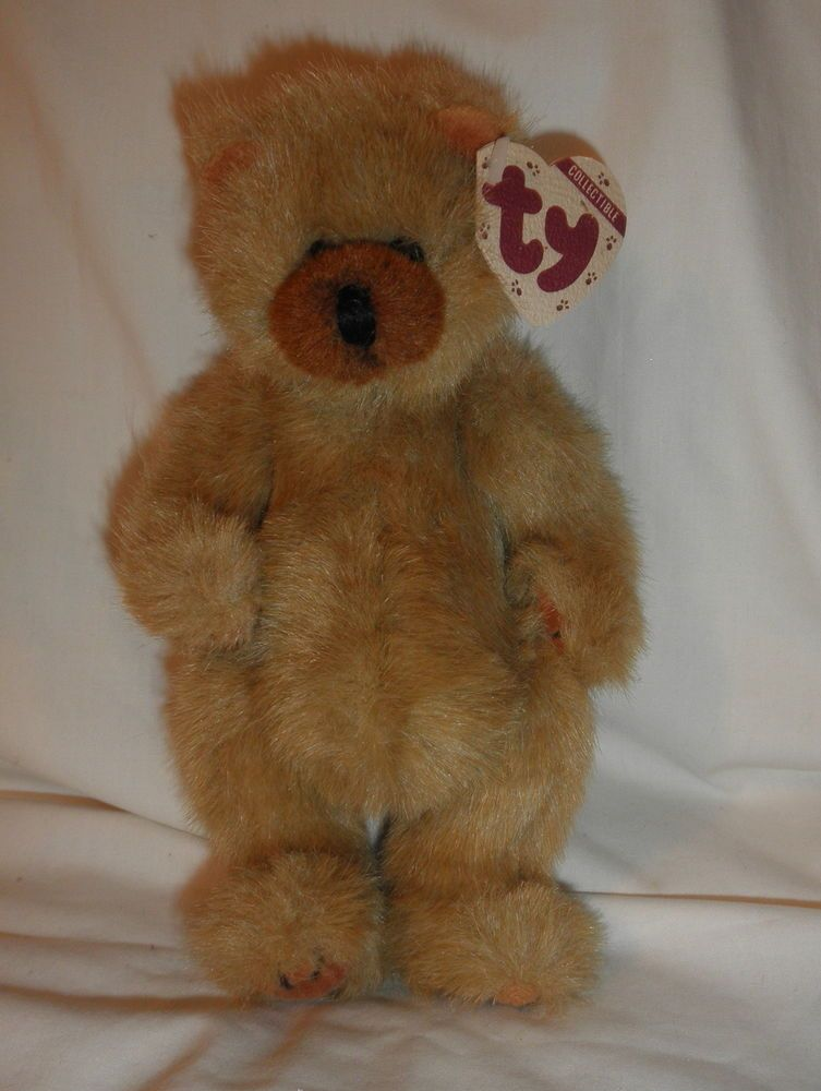 TY Attic Treasures cody the Bear with tags retired 1993  16d594aaf66