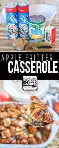 Apple Fritter Breakfast Casserole · Easy Family Recipes
