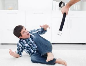 Happens. Strict parents who spank you