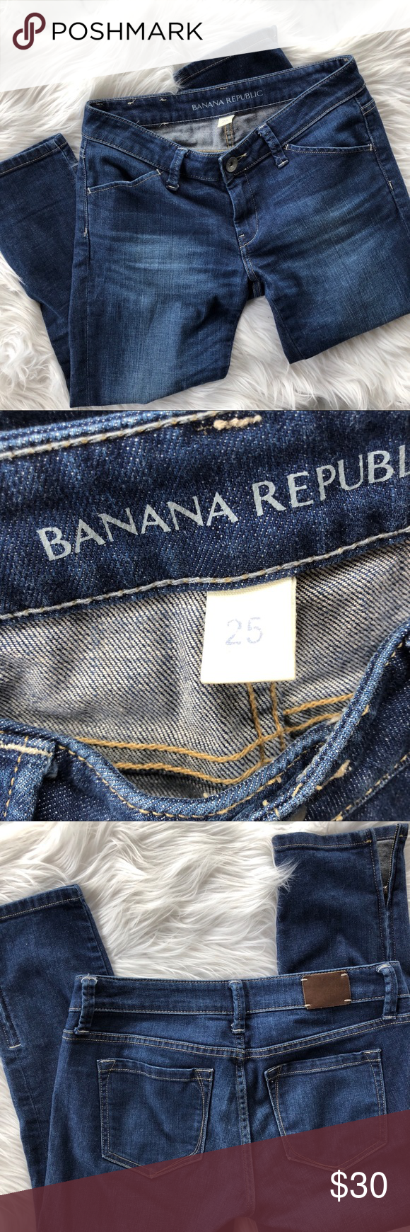 Banana Republic Skinny Crop Jeans (With images) Cropped