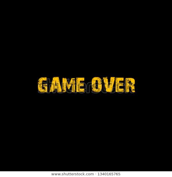 Game Over Logo Stock Illustration 1340165765 Illustration Stock Illustration Image Illustration