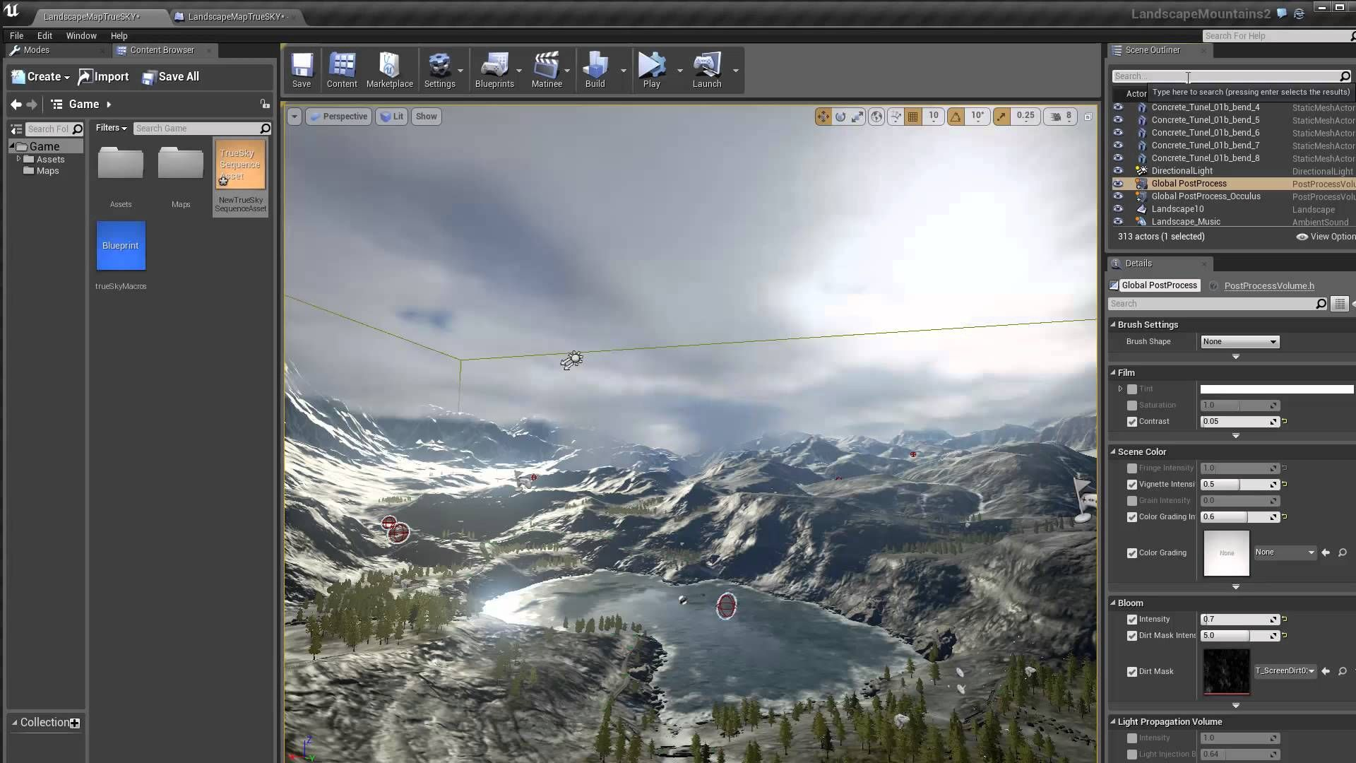 A tutorial to show how to use trueSKY in UE4  | 3D Tutorial