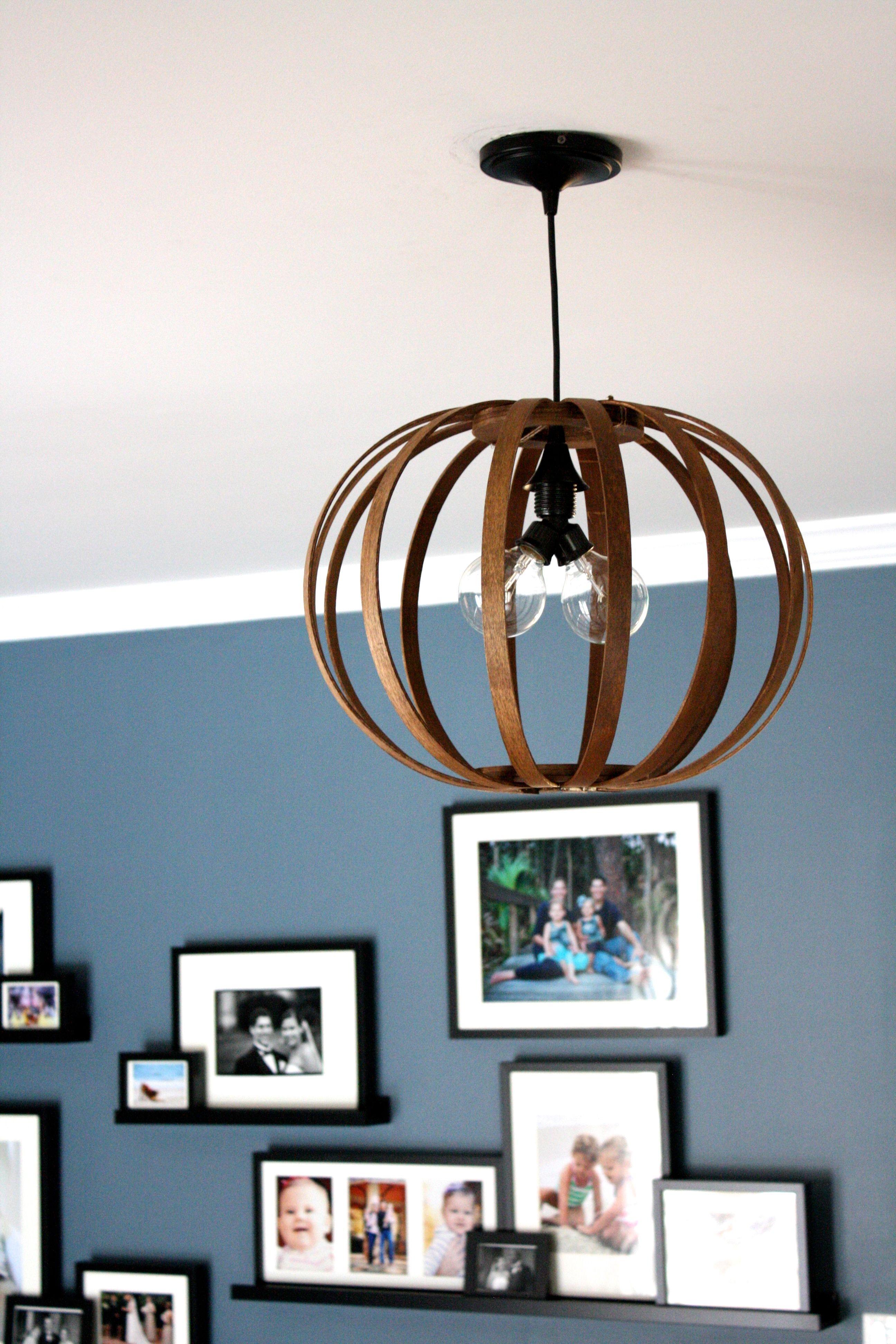 westelm lighting. Totally Genius Idea For Making A West Elm Knock Off Bentwood Pendant Light Westelm Lighting S