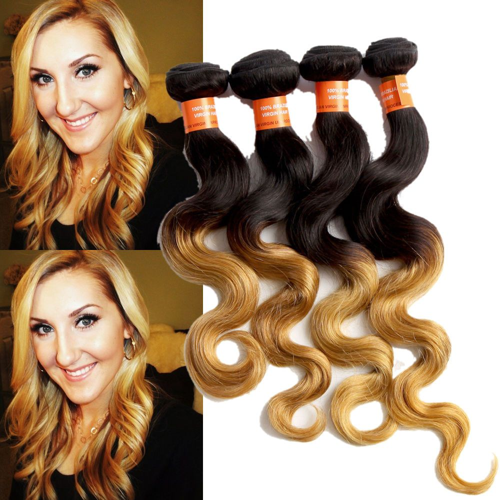 Brazilian ombre hair extension 3bundles 6a body wave high quality brazilian ombre hair extension 3bundles 6a body wave high quality remy hair weft pmusecretfo Gallery