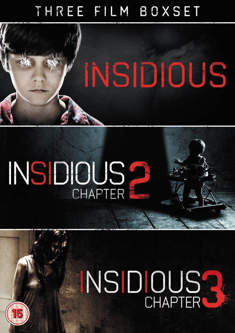 win the horror hits insidious: chapter 3 (1-3 box set) on dvd