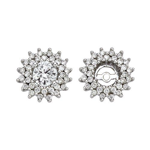 Diamond Earring Jackets 549 89 Bester