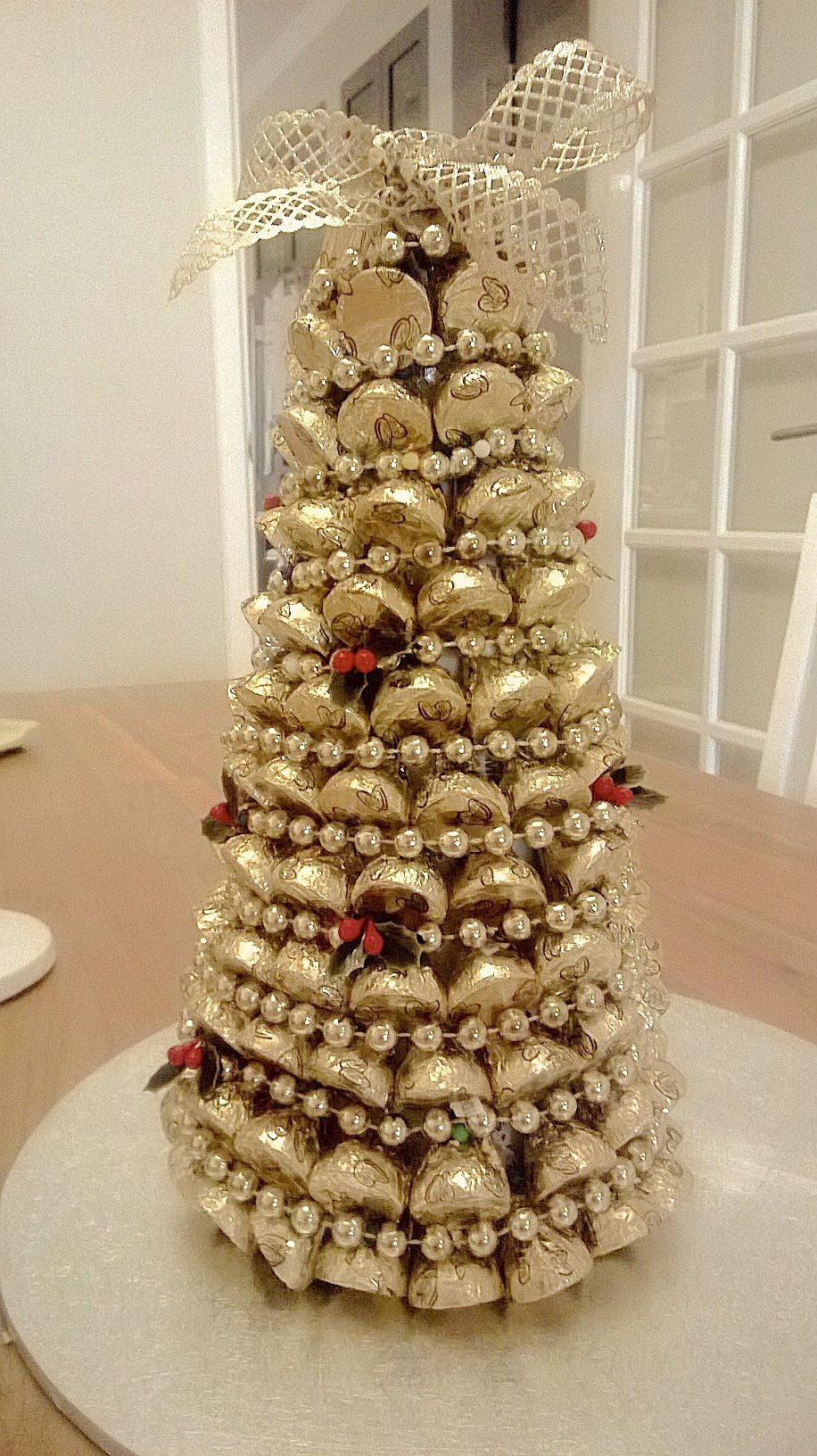 my Hershey Kisses Christmas Tree! | Christmas Food | Pinterest ...