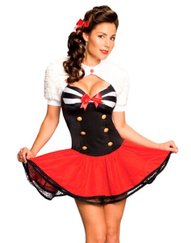 Sexy pin up girl costumes