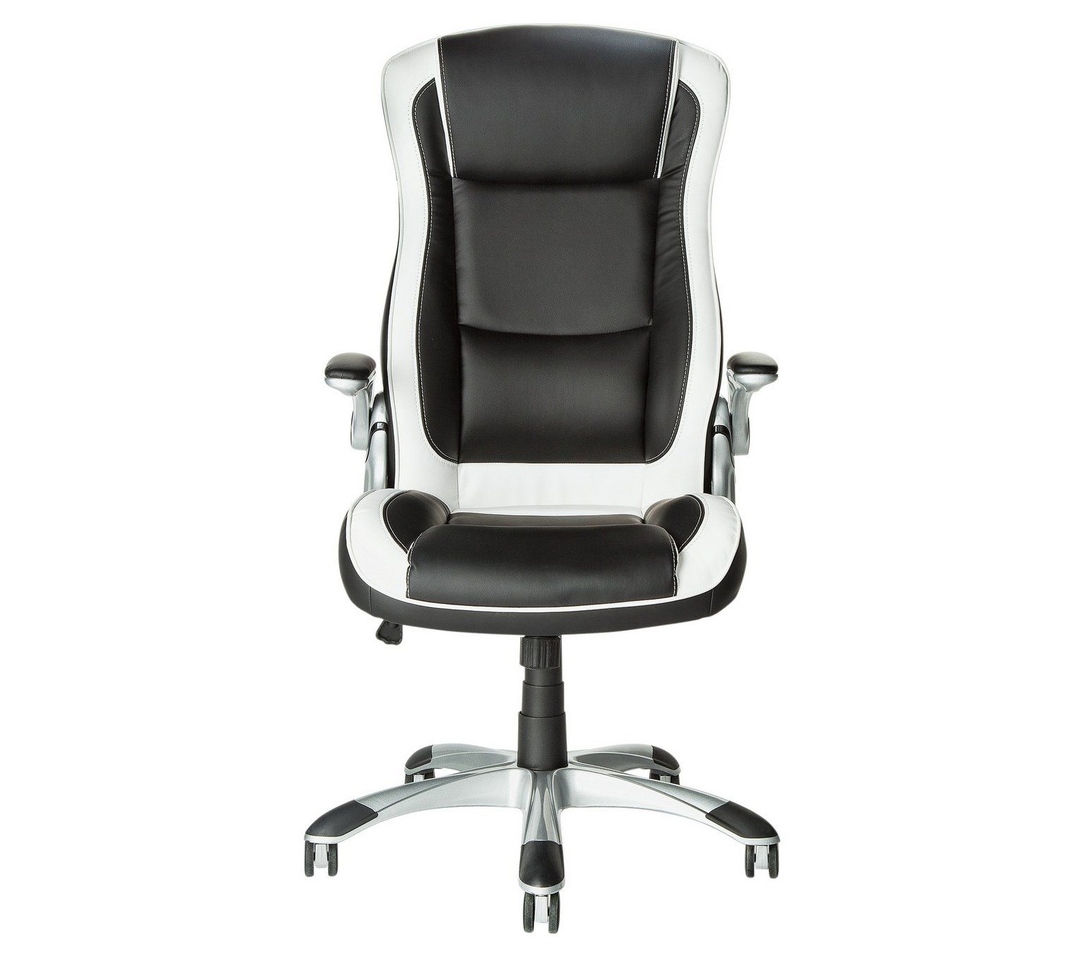 Buy HOME Dexter Height Adjustable Office Chair - Black/White at ...