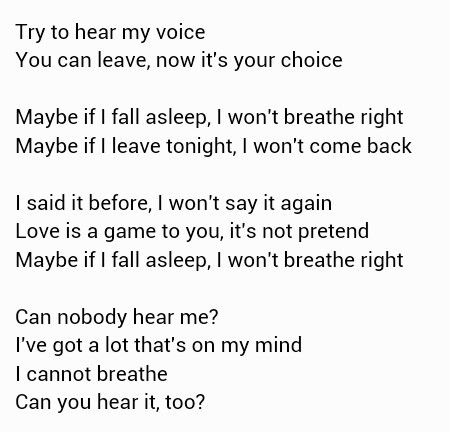 Hear Me ~ Imagine Dragons | Meaningful Song Lyrics | Pinterest
