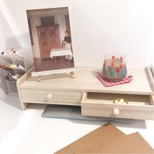Photo of simple wood storage shelf